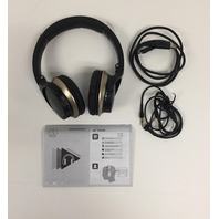 Audio-Technica ATH-AR3BTBK Sonicfuel Bluetooth Wireless On-Ear Headphones Black
