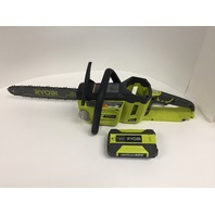 Ryobi RY40511 Lithium-Ion Brushless Cordless Chainsaw 14 In. 40-Volt