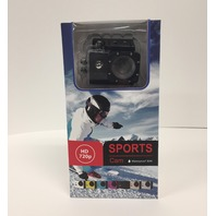 Sports Cam  - waterproof 720p HD