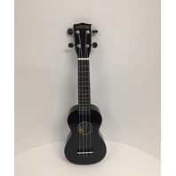 Hamano U-30BK Colorful Soprano Ukulele, Black