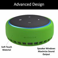 made For Amazon Mission Cables Skin For All-new Echo Dot 3rd Gen - Irish Green
