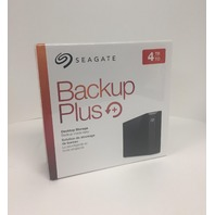 Seagate - Backup Plus 4TB External USB 3.0 Hard Drive (SEALED)