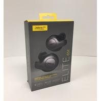 Jabra Elite 65t Alexa Enabled Wireless Earbuds, Charging Case, Titanium Black