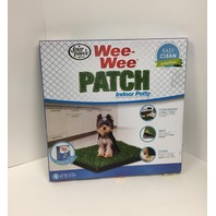 "Four Paws Wee-Wee Patch Small Indoor Potty Dog Housebreaking Tray, 20"" By 20"""