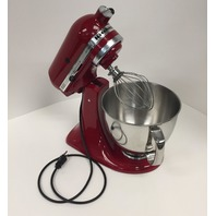 Kitchenaid Artisan Tilt-Head Stand Mixer With Pouring Shield-5-Quart, Empire Red