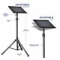 Starument Professional Adjustable 32.3 X 52' Tilted Tri-Pod Tray