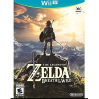 The Legend Of Zelda: Breath Of The Wild - Wii U Standard Edition (SEALED)