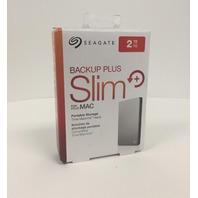 Seagate 2TB Backup Plus Slim Mac Portable External Hard Drive
