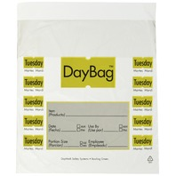 DAYMARK 112379, Day Portion Bag, 7 x 61/2, Pk 2000