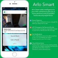 Arlo Pro Security System-1 Wire-Free HD Camera, Audio, Indoor/Outdoor (SEALED)