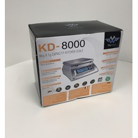Kitchen Scale Bakers Math Kitchen Scale KD8000 Scale by My Weight, Silver