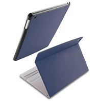 iHome Mag Folio-Swivel Folio Case with Magnetic Cover for iPad Air - Navy/Blue