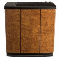 AIRCARE  3-Speed Whole-House Console-Style Evaporative Humidifier, Oak Burl