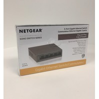 NETGEAR 5-Port Gigabit Ethernet Desktop Switch in Metal Case (SEALED)