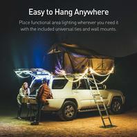 Luminoodle BASECAMP - 20 ft LED Outdoor String Lights - 12V Color Changing