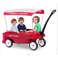 Radio Flyer Triple Play Wagon Deluxe Canopy