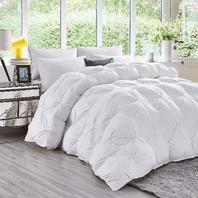 Luxurious All-Season Goose Down Comforter King Size Duvet Insert