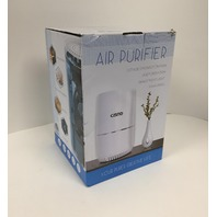 Cisno Air Purifier 3-Stage True Hepa Filter, Smoke Odor Pets Dander Remover