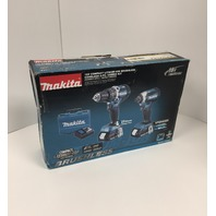 Makita 18-Volt Compact Lithium-Ion Brushless Cordless Combo Kit (2-Piece)