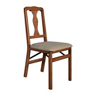 Stakmore Queen Anne Folding Chair (Set Of 2), Cherry