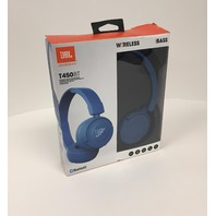 JBL T450BT Blue Bluetooth Wireless On-ear Headphones Headset Free Shipping