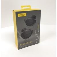 Jabra Elite Sport In-Ear Noise Cancelling Wireless Earbuds - Black (Sealed)