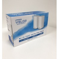 Linksys Velop WHW0102 Whole Home WiFi Intelligent Mesh System - 2 Pack
