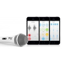 iRig Voice Karaoke Microphone for Smartphones and Tablets, Blue