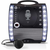 The Singing Machine Portable CDG   Bluetooth Karaoke System