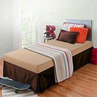 Zinus Sleep Master Memory Foam 5 Inch Bunk Bed Mattress, Twin, Khaki