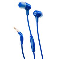 JBLE15BLU JBL E15 In-Ear Headphones with One-Button Remote and Mic (Blue)