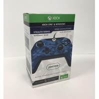 PDP Stealth Series Wired Controller for Xbox One, Revenant Blue
