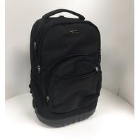 ROCKLAND R02-BLACK 19-Inch Rolling Backpack Multipurpose, Black, One Size