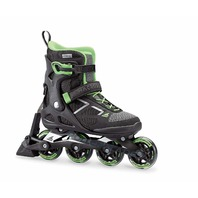 Rollerblade Women's 80 ABT Fitness Inline Skate, Black/Light Green, Size 6.5
