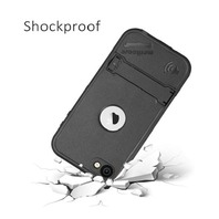 Waterproof Case For iPod Touch 5 , Redpepper (Black)