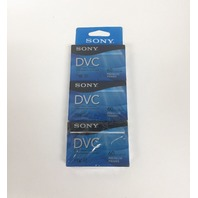 Sony DVM60PRR/3 60-Minute DVCTape Hang Tab (SEALED)
