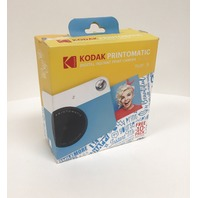 Kodak Printomatic Instant Camera Blue/white