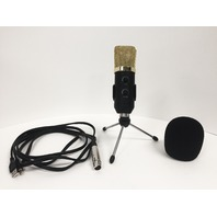 BM - 100FX USB Condenser Studio Sound Recording Microphone with Stand