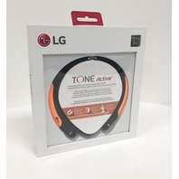 SEALED GENUINE LG Tone Active Premium Bluetooth Headset Sports HBS850 - Orange