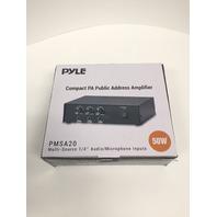 PyleHome PMSA20 Amplifier - 50 W RMS