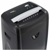 12-Sheet High-Security Micro-Cut Paper, CD, Credit Card Shredder, Pullout Basket