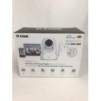 D-Link HD Pan & Tilt Wi-Fi Camera - 720p - Night Vision Remote Access SEALED