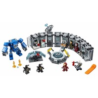 Lego 76125 Marvel Avengers Iron Man Hall Of Armor Building Kit 524 Piece