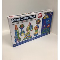 Cra-Z-Art 35902 62pc Magcreator Set Building-And-Stacking-Toys