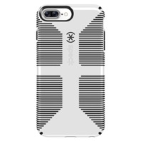 Speck CandyShell Grip Cell Phone Case for iPhone 7/8 PLUS Quartz white/b;ack