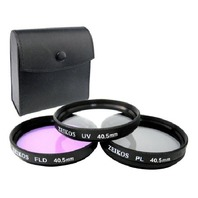 Zeikos Ze-Flk40.5- 40.5mm Glass Filter Kit (Uv-Cpl-Fld)