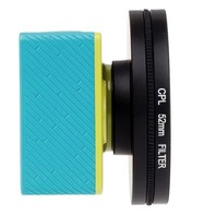 52MM CPL FILTER CIRCULAR POLARIZER LENS FILTER WITH CAP FOR XIAOMI XIAOYI