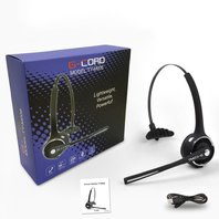 G-Cord Over-The-Head Wireless Bluetooth V4.1 Hands Free Headsets with Microphone