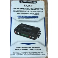Scosche Fai4f Speaker Level Converter