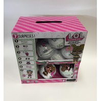 18 L.O.L Surprise Glitter Series Dolls w/ Full and Complete Display Case LOL NEW